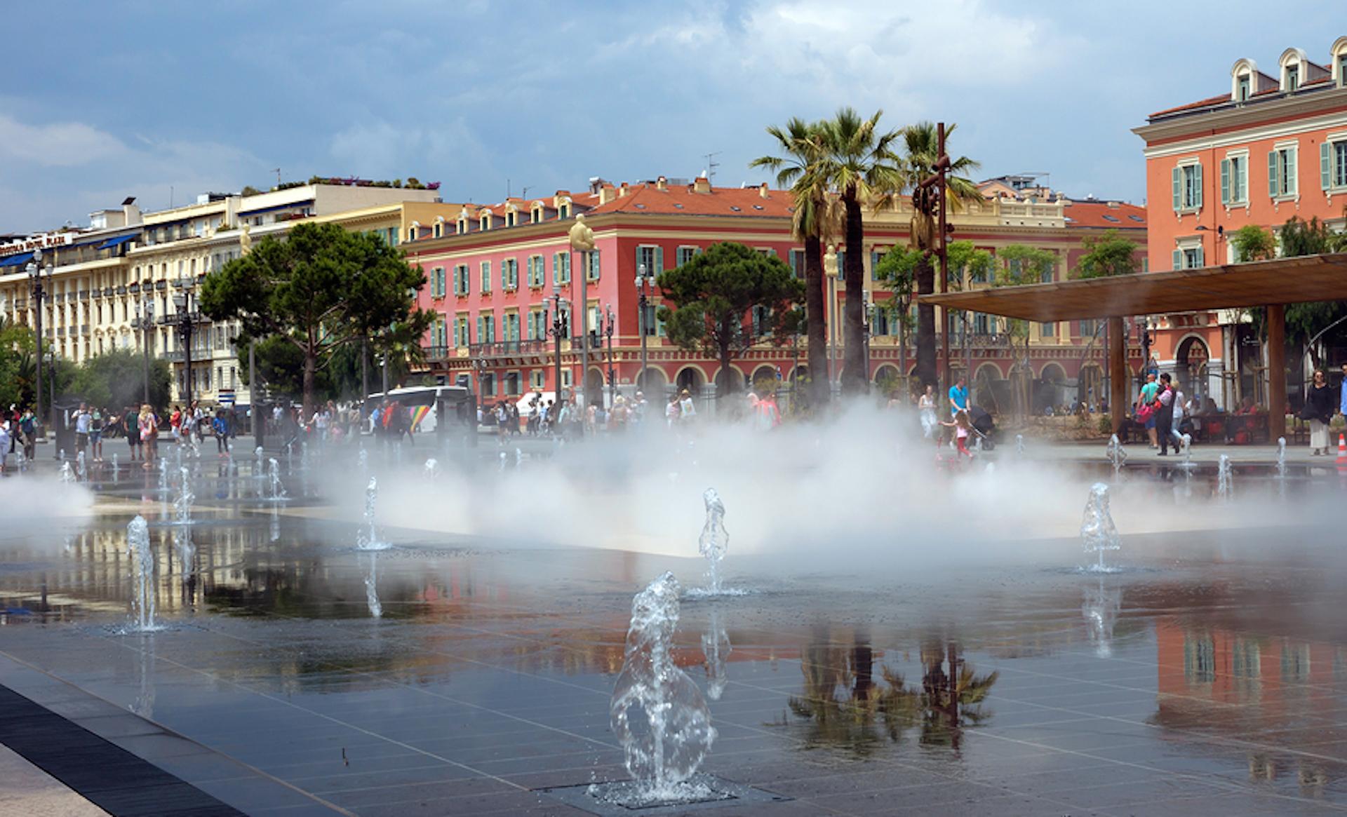 La coulée verte de Nice et ses jardins publics