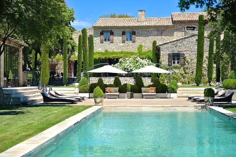 Chambre d 39 h tes gordes villa hautvallon for Achat maison luberon
