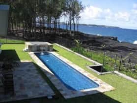 38' Private Swimming Pool and Hot Tub at Hale Mar