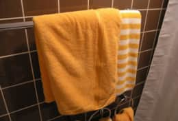 Handtücher inklusive