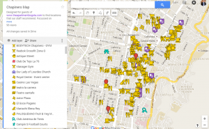 Google Hostpost Map