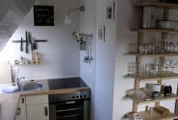 Kochecke im Wohnraum
