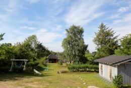 Garten mit Bikeport