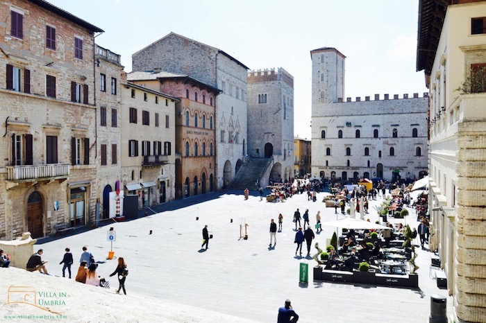 Main square in Todi