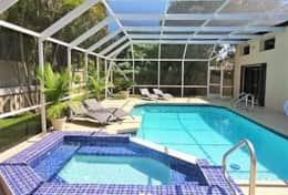 Large & Private Rear Garden Pool Area (2)