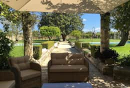 Casino Pisanelli MH - shaded outdoor area - Ruffano - Salento
