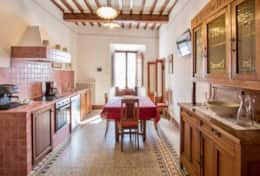 Antica Villa Cortona, kitchen