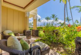 Private lanai off master bedroom for those quiet times