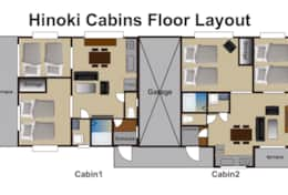 Hinoki Cabins Floor Layout