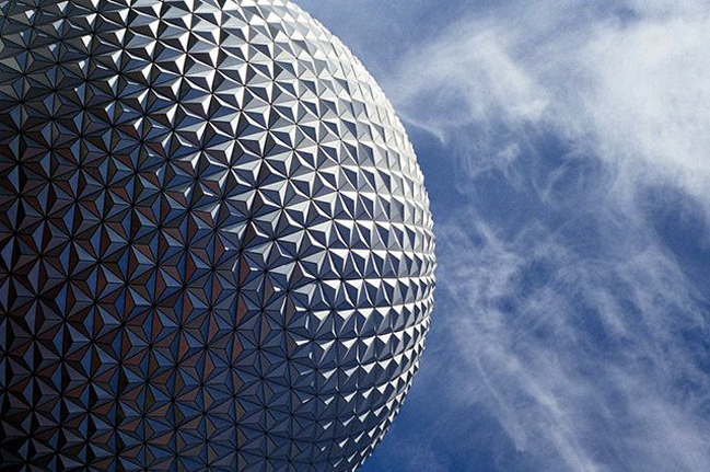 Epcot Ball at Disney World in Florida