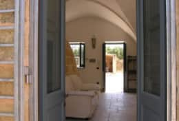 Masseria Ugento - view of the doubleroom with sofa-bed  - Ugento - Salento