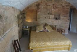 Cava - barrel vaulted ceiling bedroom - Barbarano - Salento