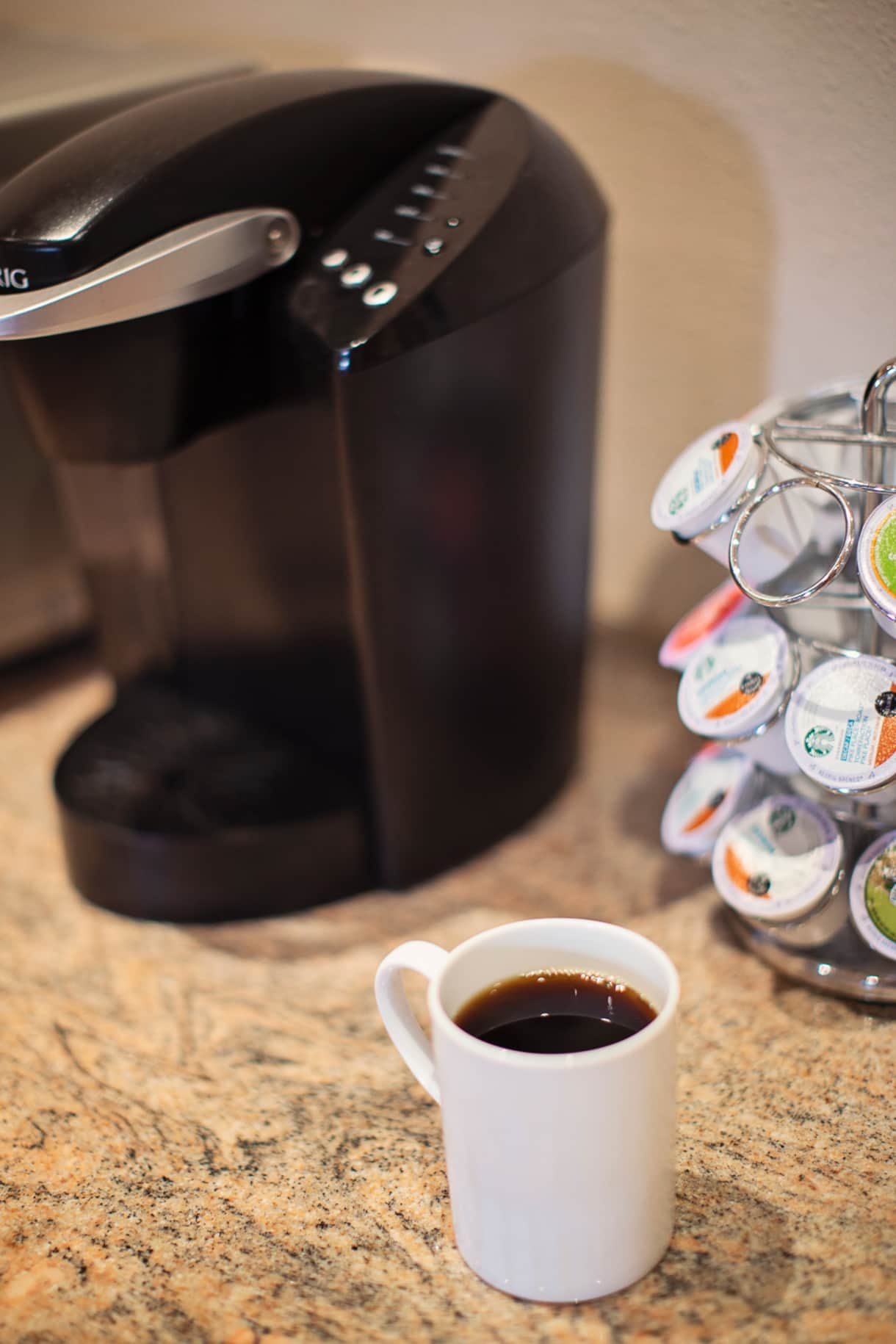 Keurig, Mr. Coffee, Nespresso, French Press.... lots of options!