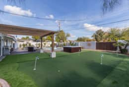 Private Putting Green