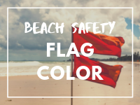 Flag Color Beach Safety