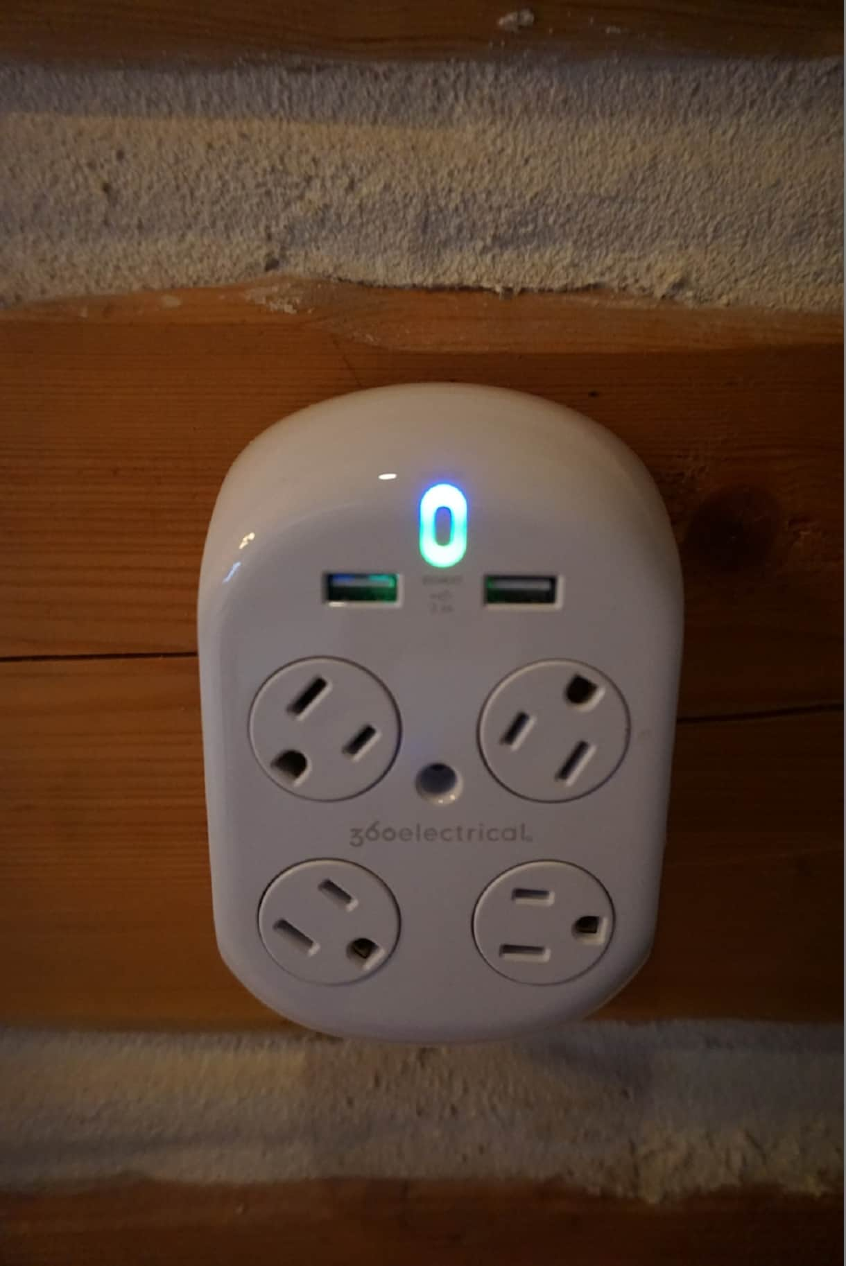 Multi-plugs and USB chargers throughout the cabin for your convenience