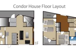Condor House floor layout
