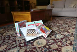 Boardgames in all of our homes
