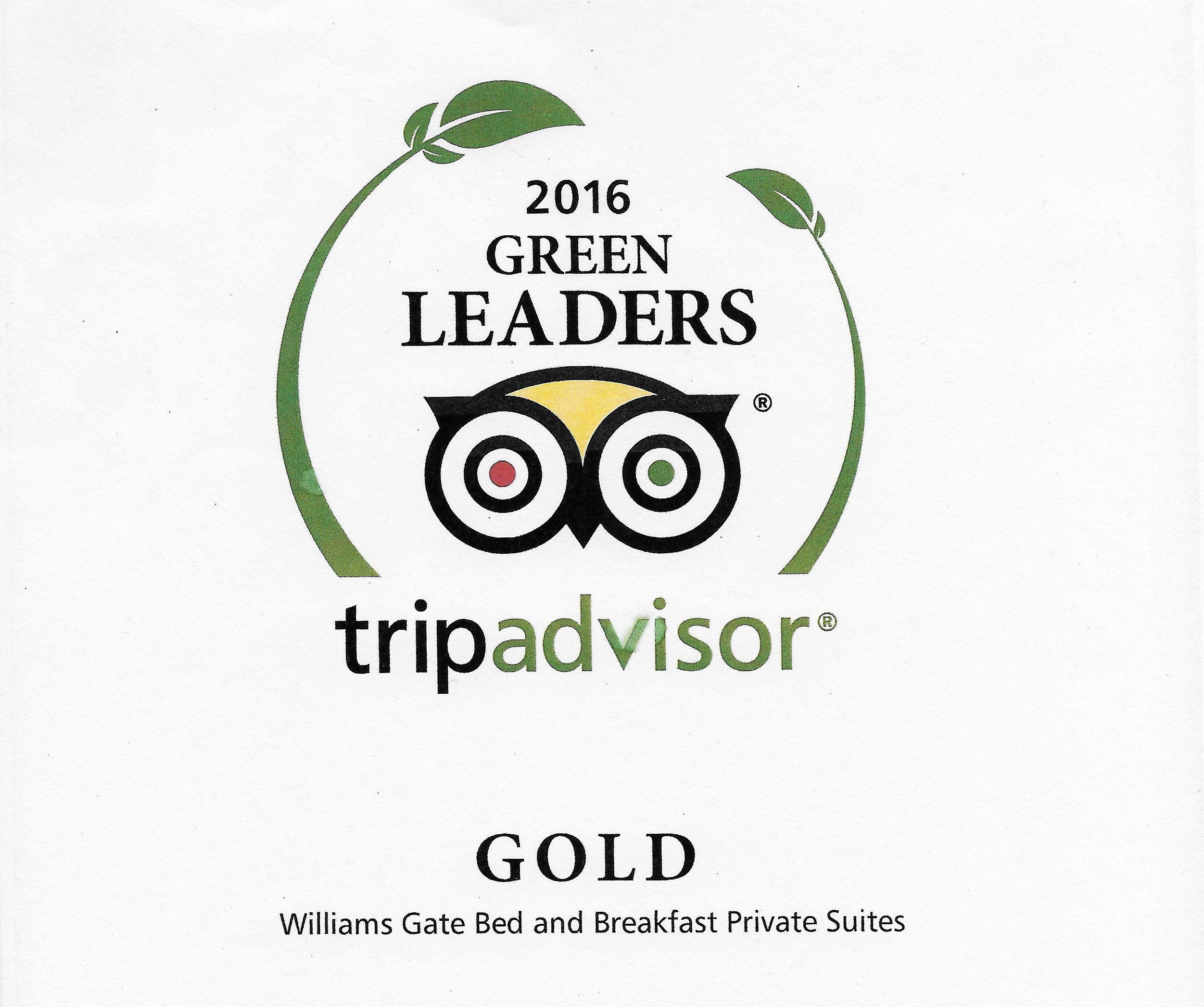 Williams Gate B&B Private Suites Niagara-on-the-Lake - Gold Green Leader on TripAdvisor