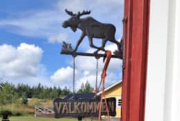 K43 Stewart Cottage - Decor Elk Välkommen Sign