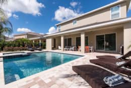 Exclusive Private Villas, 8 Bedroom Luxury Pool Home In Encore Resort (ENC116) - Pool3