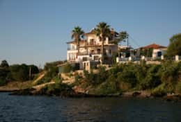 Villa Chara | Ammouliani | Villa from the sea