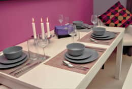 Dinning Table - Close-up-2