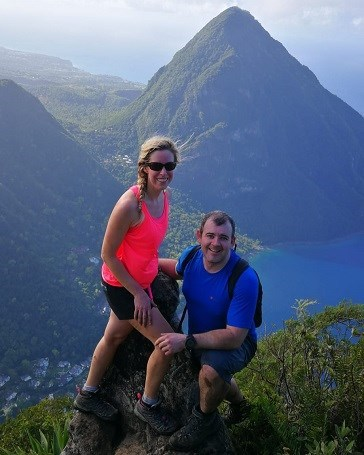 View from a hike on Our World Renowned Piton