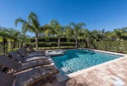 Exclusive Private Villas, 8 Bedroom Luxury Orlando Villa (ENC014) - Pool1