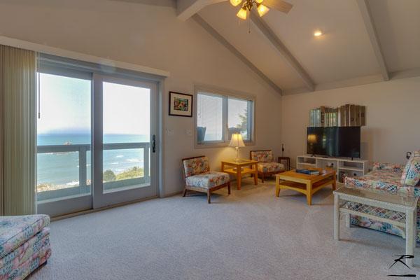 Living room of guest quarters