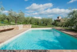 Agriturismo Montefalco, swimming pool