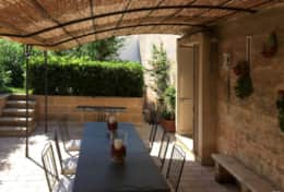 Grecale - furnished outdoor area - Leuca - Salento