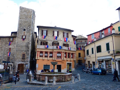 Main square in Narni