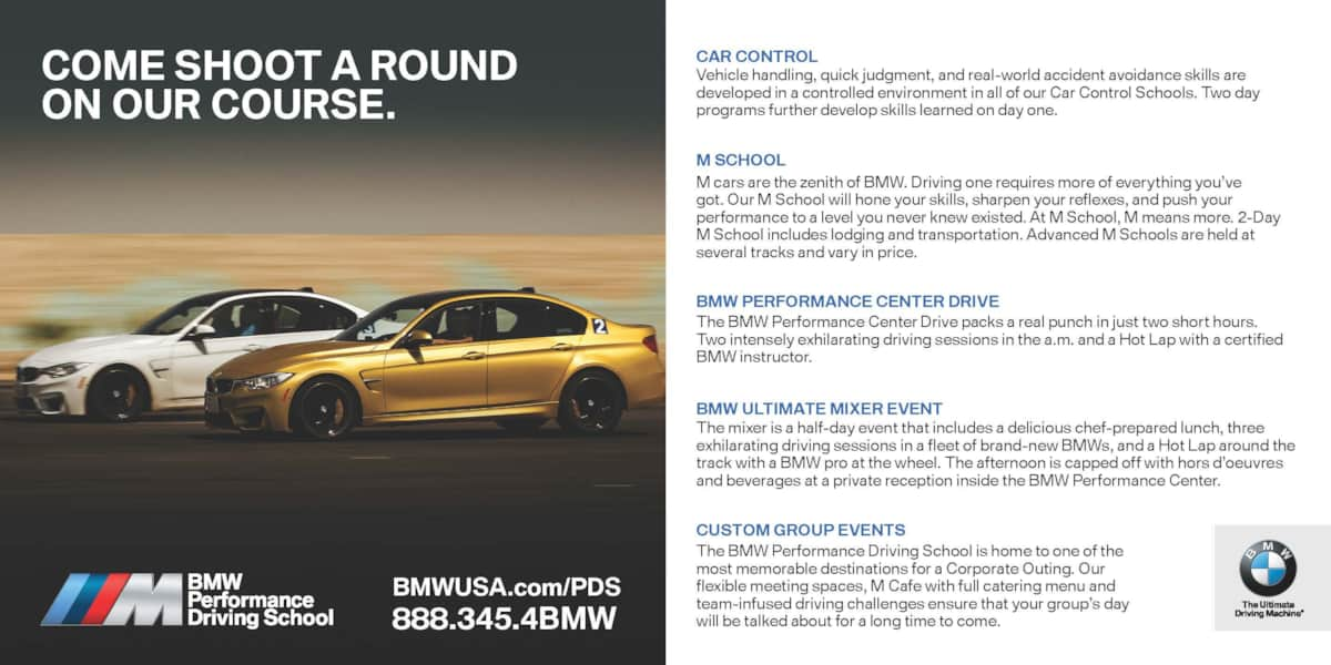 Bmw Performance Driving School >> Bmw Performance Driving School Classic Vacation Home In Indian Wells