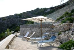 Il Faro - furnished pool area - Leuca - Salento