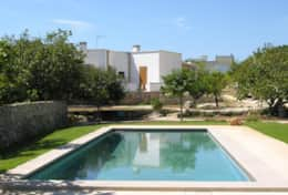 Giardino nascosto - view of the house from the pool - Marittima - Salento