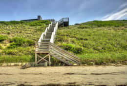 Private Steps to the Beach