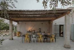 Apoikia - furnished terrace with outdoor dining area - Specchia - Salento