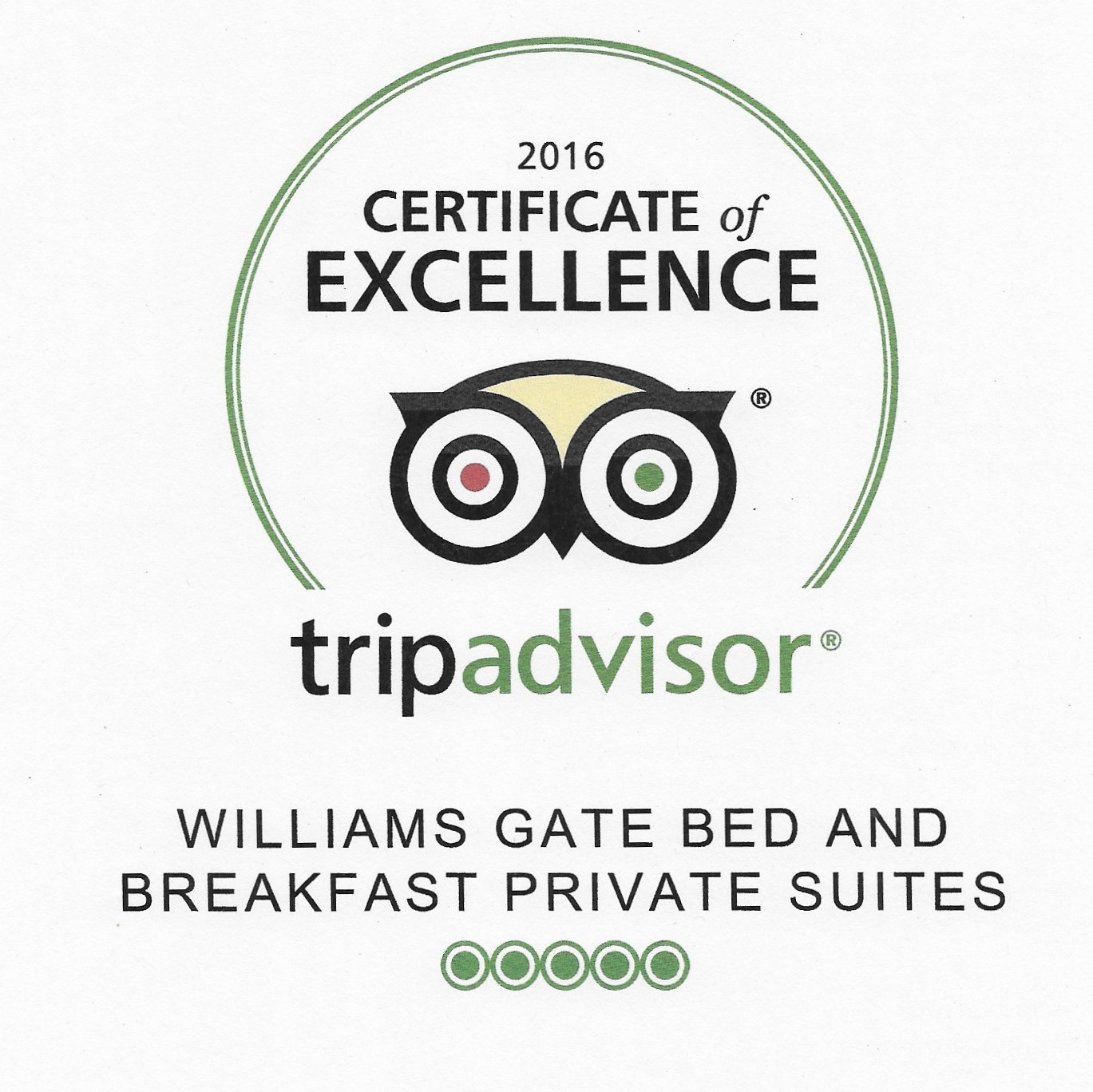 Williams Gate B&B Private Suites Niagara-on-the-Lake on TripAdvisor