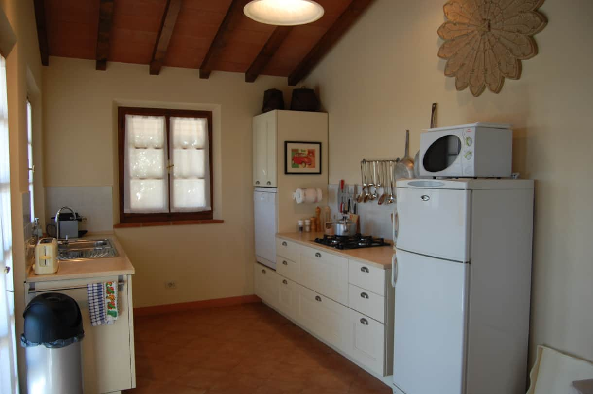 Serious cooks love this well equipped kitchen to eat overlooking the pool and with a great view