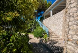 Villa sul mare - staircase which leads to the annex 2 - Castro - Salento