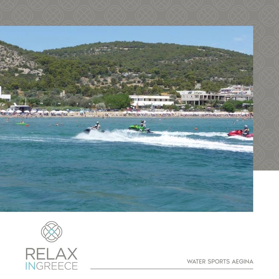 water sports in Aegina