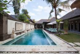 Villa Dewata II with long pool