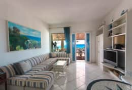 Villa sul mare - large living room - Castro - Salento