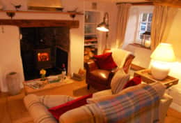Sitting Room, Boutique Cottage Exmoor