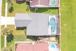 Aerial of House