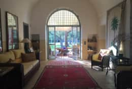 Le More - large living room towards the outdoor - Spongano - Salento
