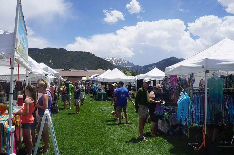 Walk to town events - like one of four Summer markets