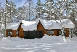 Hinoki Cabin #1 & #2 Winter