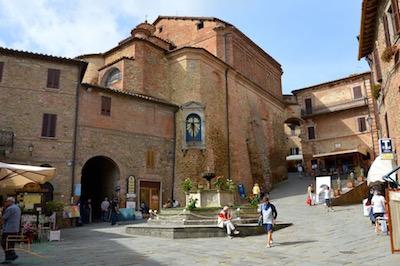 Panicale main square
